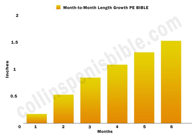 PE Bible length growth graph