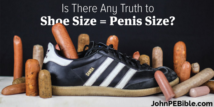 shoe size vs penis size